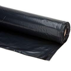 Plastic Bouwfolie Zwart 50x6m