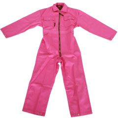 Kinderrallyoverall Roze