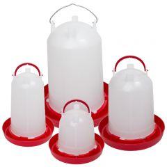 Ophang drinktoren met bajonetsluiting kunststof