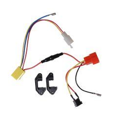 Oplaadcontact /contrastekker compleet - voor Tukan 1600E-