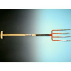 Spitvork 4-tands met dubbele veren en Atlas steel 90cm