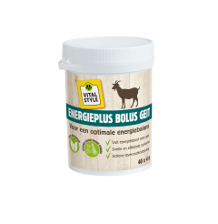 VITALstyle Energie PlusBolus geit 40-pack (GMP+ FSA geborgd)